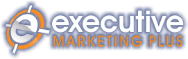 executive marketing plus logo